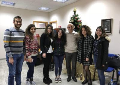Etudiants boursiers de la fondation Ghazal