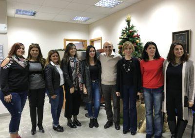 Membres du service social de l'Université Saint-Joseph de Beyrouth
