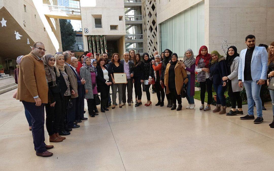 Le Prix pour la Paix au Liban 2017